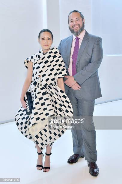 China Chow and Maximillian Chow attend Mr Chow 50 Years on February 16 2018 in Vernon California