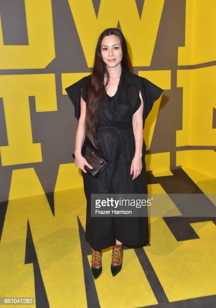 China Chow attends the Hermes Dwtwn Men s/s17 Runway Show on March 9 2017 in Los Angeles California