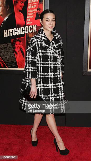 China Chow attends the Hitchcock New York Premiere at Ziegfeld Theatre on November 18 2012 in New York City