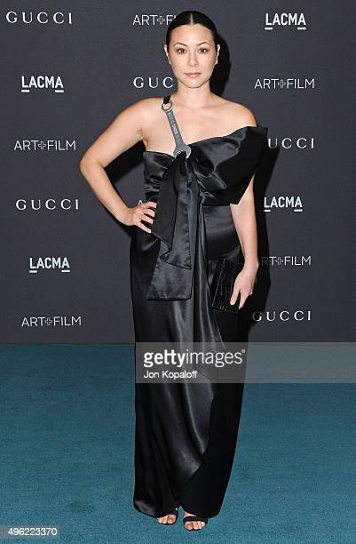 China Chow attends the LACMA Art Film Gala honoring Alejandro Gonzalez Iarritu and James Turrell and presented by Gucci at LACMA on November 7 2015...