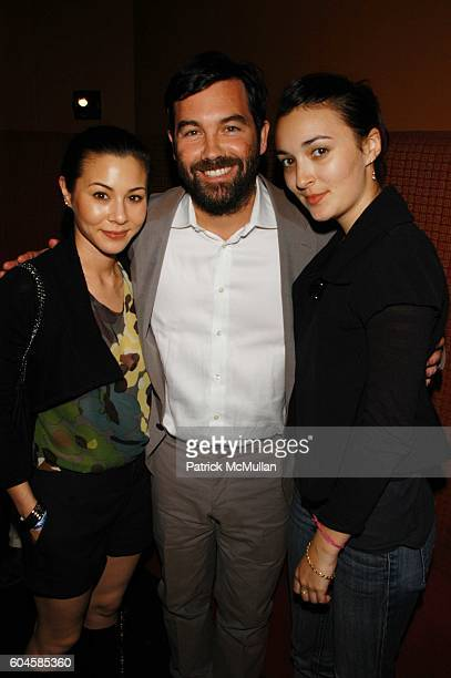 China Chow Duncan Sheik and Malu Byrne attend Spring Awakening opening night after party at Lotus NYC on June 15 2006