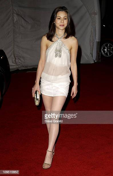 China Chow during GM Ten Celebrates 75 Years of Film with Celebrity Fashion Show Arrivals in Hollywood California United States