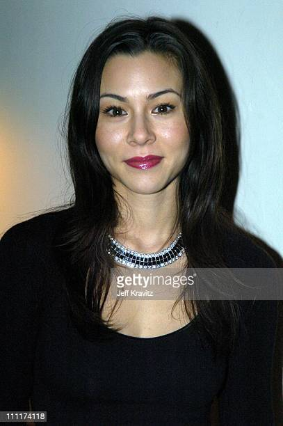 China Chow during HBO Films Pre Golden Globes Party Inside Coverage at Chateau Marmont in Los Angeles California United States