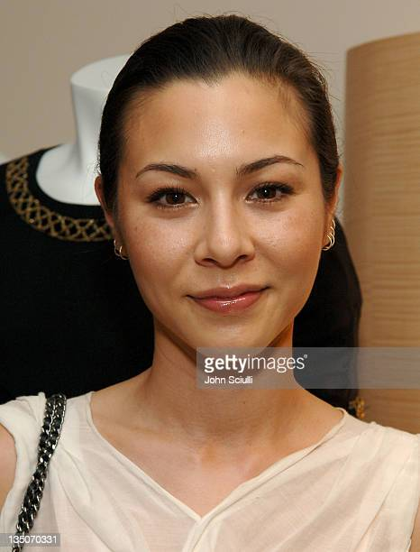 China Chow during Martin Katz Hosts A Summer Soiree to Honor C Magazine's August Issue at Martin Katz Boutique in Beverly Hills California United...