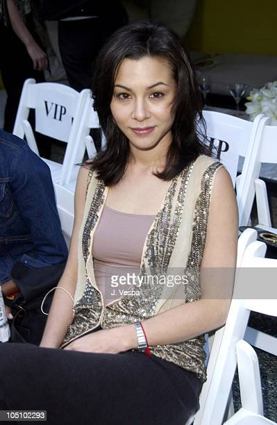 China Chow during MercedesBenz Shows LA Imitation Of Christ Front Row and Backstage at Avalon Hotel in Los Angeles California United States