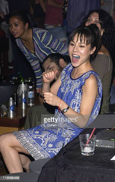 China Chow during Premiere of Lucky Strike Lanes Bowling Lounge at Lucky Strike Lanes in Hollywood California United States