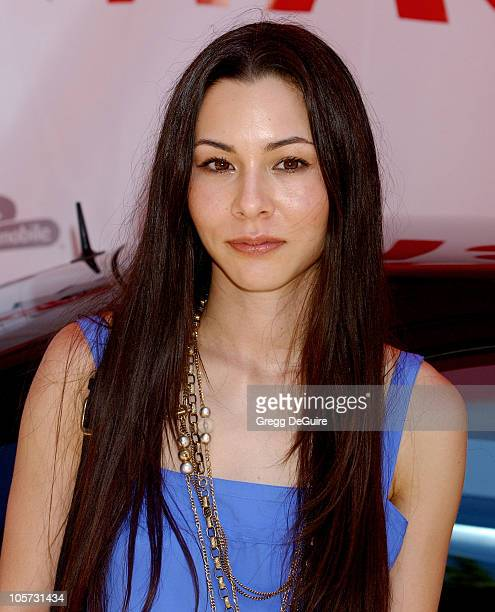 China Chow during Virgin Mobile House Of Paygoism Summer BBQ Tour at Sunset Blvd in Hollywood California United States