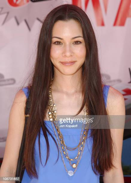 China Chow during Virgin Mobile House of Paygoism Summer BBQ Tour at Sunset Blvd. In West Hollywood, California, United States.