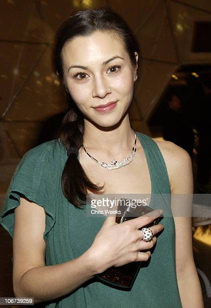 China Chow during W Magazine Celebrates Their First Golden Globes Event Presented With Cartier And MAC Cosmetics Inside at The Plaza at the Pacific...