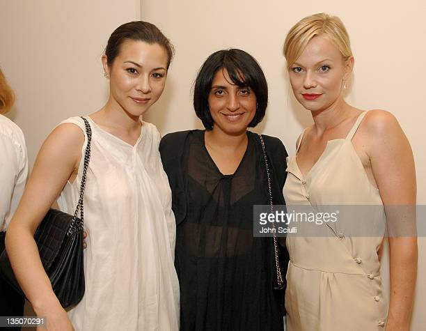 China Chow Jasmin Shokrian and Samantha Mathis during Martin Katz Hosts A Summer Soiree to Honor C Magazine's August Issue at Martin Katz Boutique in...