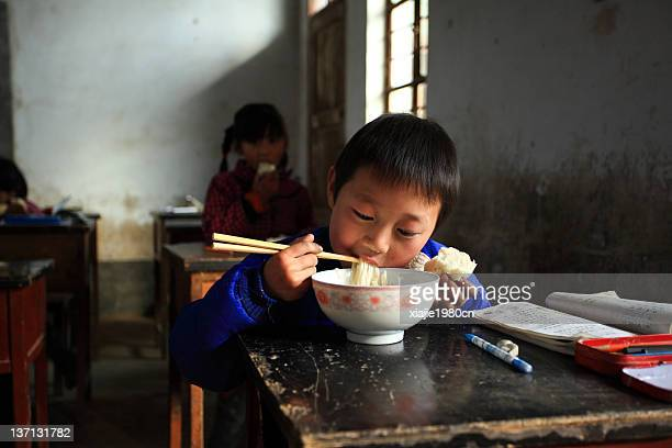 China countryside children