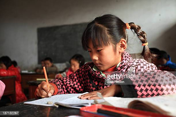china countryside children - henan province stock pictures, royalty-free photos & images