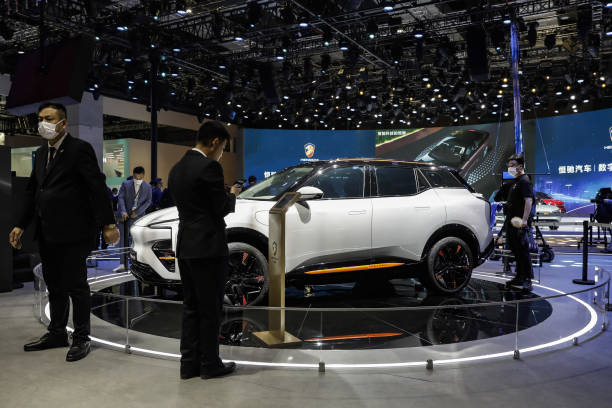 CHN: Inside the Shanghai Auto Show