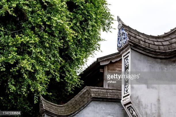 china fuzhou classical architecture - fuzhou stock pictures, royalty-free photos & images