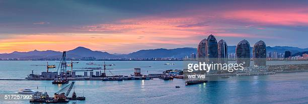 china hainan sanya - haikou stock pictures, royalty-free photos & images