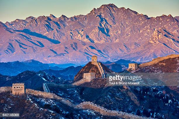 china, hebei, the great wall - hebei province stock pictures, royalty-free photos & images