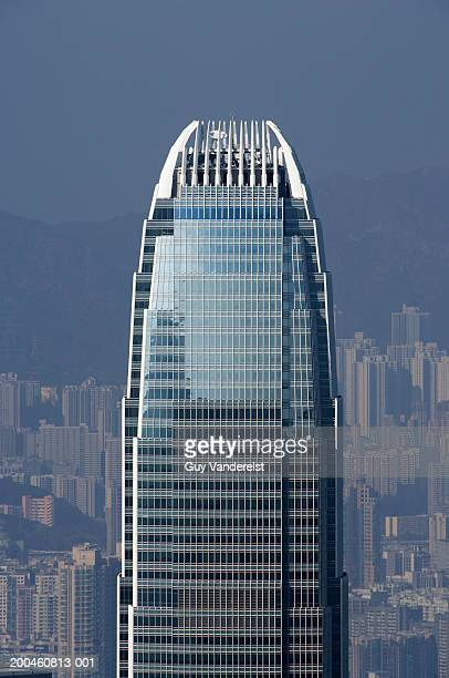 china, hong kong, hong kong island, central district, twi ifc - two international finance center stock pictures, royalty-free photos & images