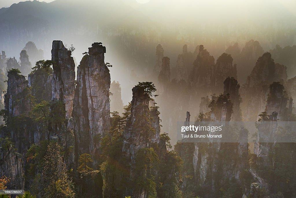 China, Hunan Province, Wulingyuan Scenic Area : Stock Photo