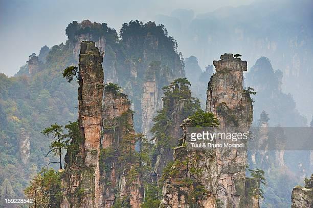 China, Hunan Province, Wulingyuan Scenic Area