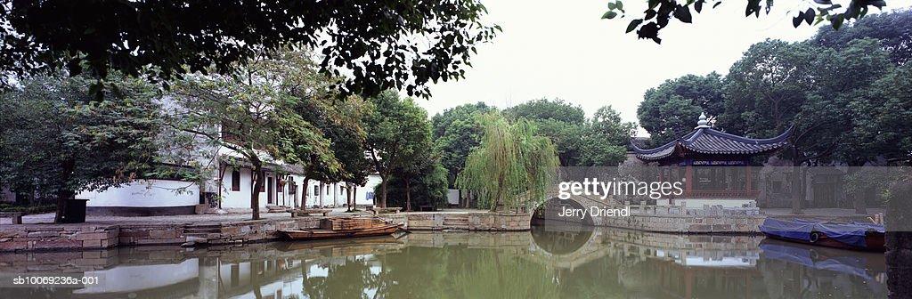 China, Jiangsu Province, Tong Li, ancient canal : Stockfoto