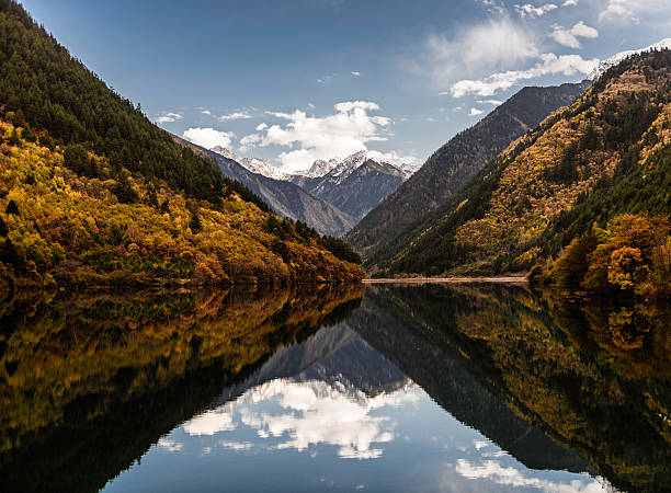 China, Jiuzhaigou national park
