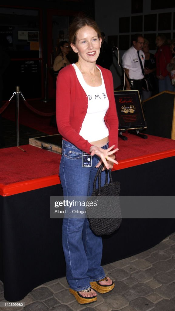 Singer Grace Slick Inducted into Hollywood RockWalk : News Photo