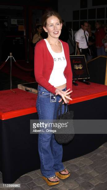 China Kantner during Singer Grace Slick Inducted into Hollywood RockWalk at Guitar Center on Sunset in Hollywood California United States