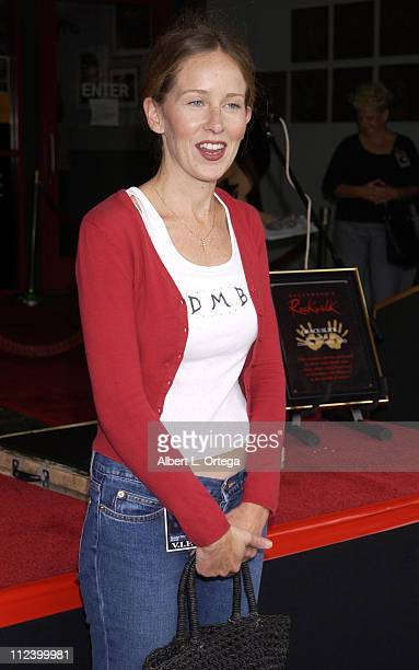China Kantner during Singer Grace Slick Inducted into Hollywood RockWalk at Guitar Center on Sunset in Hollywood, California, United States.