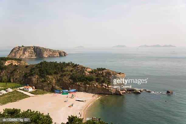 China, Liaoning Province, Dalian, Bangchuidao Scenic Area