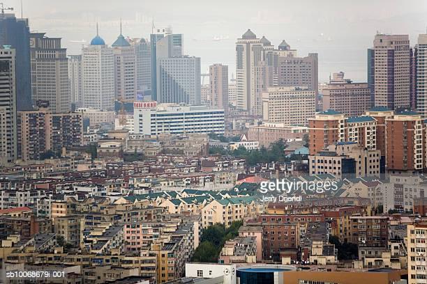 China, Liaoning Province, Dalian, cityscape