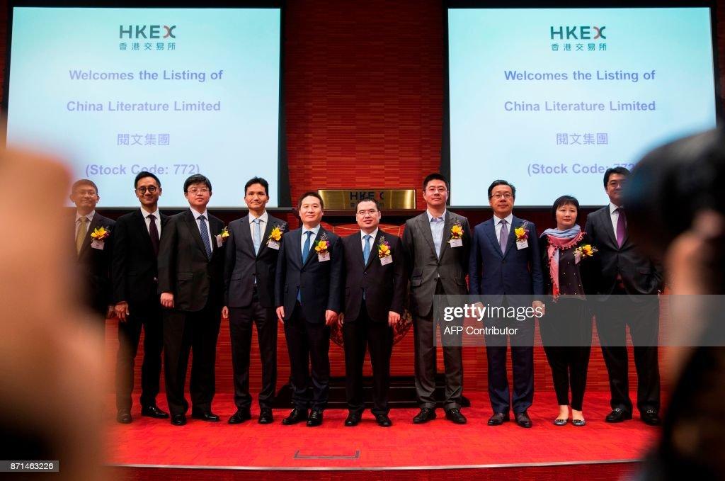 HONG KONG-TENCENT-MARKET-IPO-TECHNOLOGY : News Photo