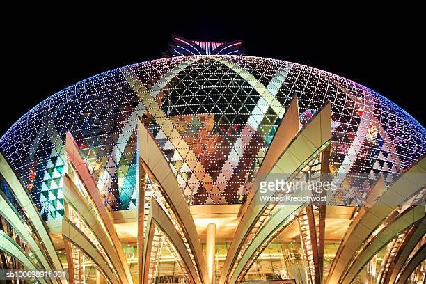 China, Macau, casino at night