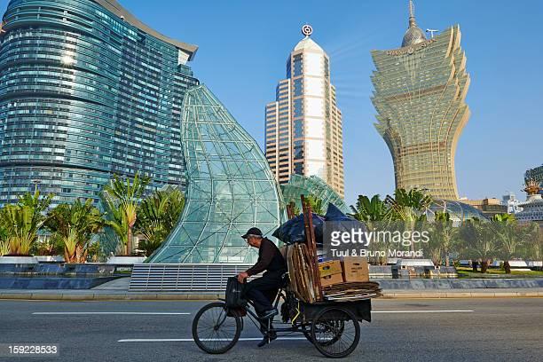 China, Macau, City Skyline