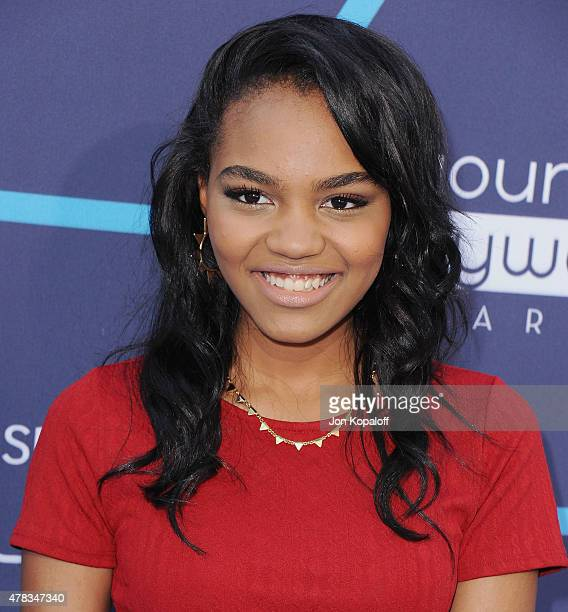 China McClain arrives at the 16th Annual Young Hollywood Awards at The Wiltern on July 27, 2014 in Los Angeles, California.