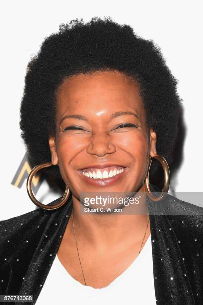 China Moses attends the PreMOBO Awards Show at Boisdale of Canary Wharf on November 20 2017 in London England
