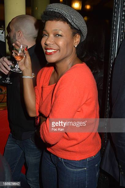 China Moses attends the 'Prix De Flore 2012' Literary Award Ceremony Party at the Cafe de Flore on November 8 2012 in Paris France