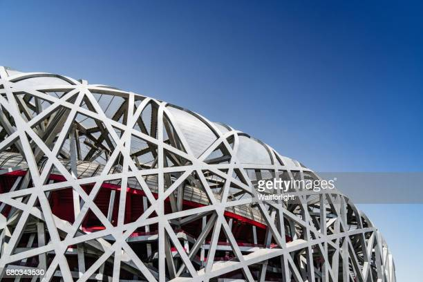 china national stadium - 国立オリンピック競技場 ストックフォトと画像