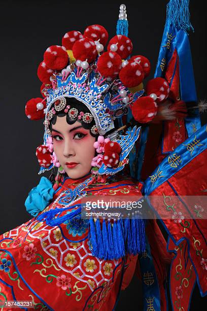china opera - opera stage stock pictures, royalty-free photos & images