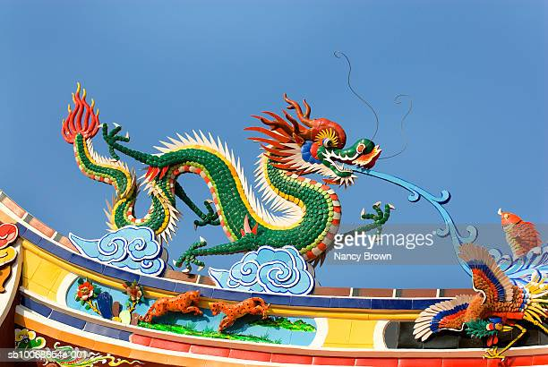 china, quanzhou, mazu temple - dragon stock photos and pictures