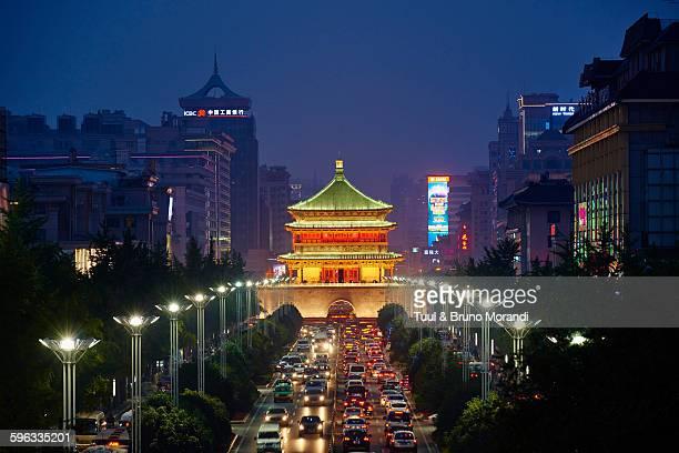 China, Shaanxi, Xian, Bell Tower