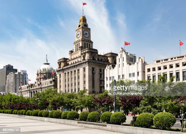 china, shanghai, huangpu district, the bund - the bund stock photos and pictures