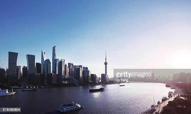 China Shanghai landmark