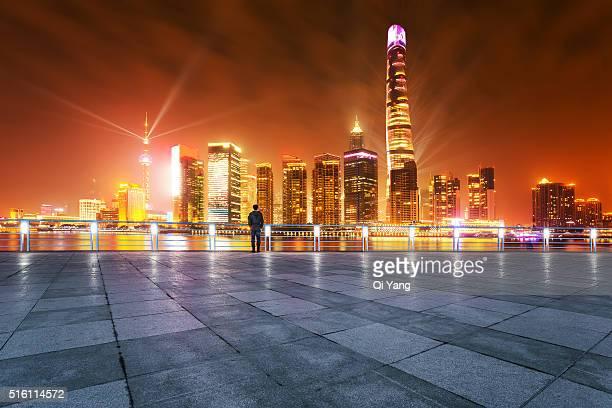 China Shanghai Pudong financial district