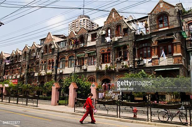China Shanghai Shanghai Hongkou district the former Jewish Ghetto Zhoushan Lu old houses