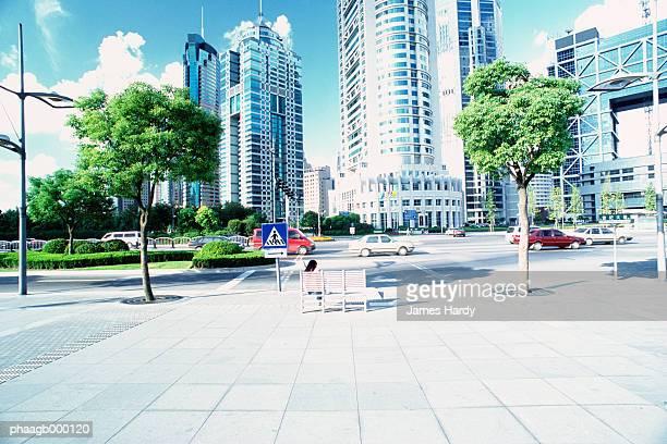 China, Shanghai, skyscrapers