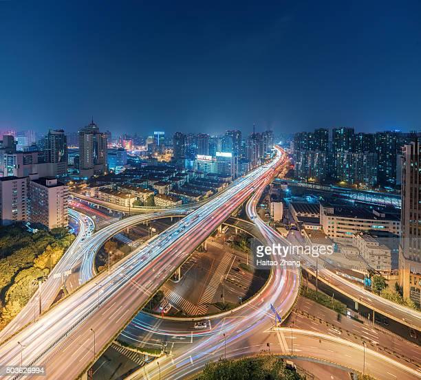 China Shanghai traffic