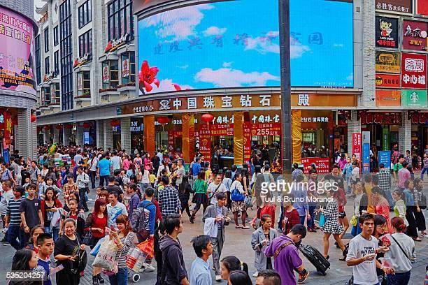 china, shenzhen, jiefang lu street - 深圳市 ストックフォトと画像