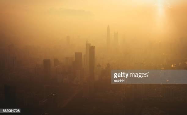 China, shenzhen Wolkenkratzer