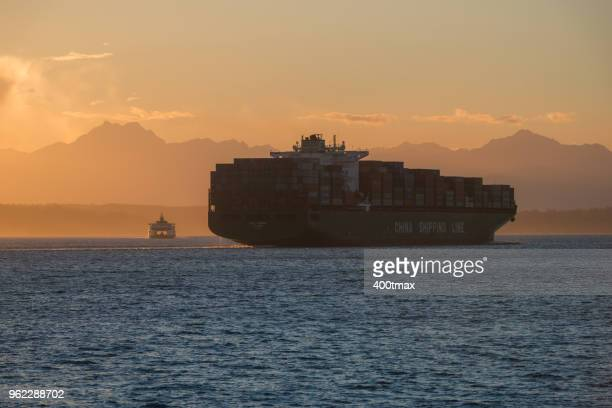 china shipping - global trade war stock pictures, royalty-free photos & images