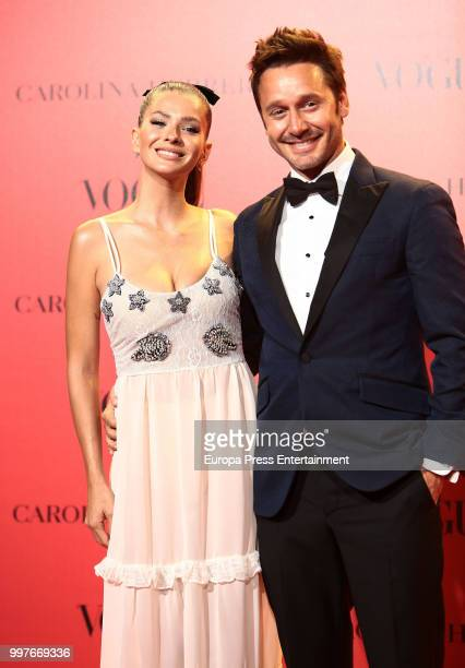 China Suarez and Benjamin Vicuna attend Vogue 30th Anniversary Party at Casa Velazquez on July 12 2018 in Madrid Spain
